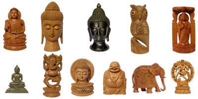 Sculptures in India have been employed for both religious and secular purposes. Statues of gods and goddesses, warriors, celestial dancers and animals speak volumes of rich sculptural heritage of India. Jindal Crafts proudly presents a rich collection of