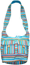Colorful Eco Friendly Long Life Fabric made Handbag