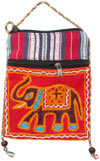 Designer Colorful Bags Cotton Hand Embroidered India