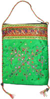 Designer Cotton Bag Eco Friendly Hand Crafted India Art