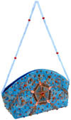 Hand Embroidered Designer Beaded Jari Bag Purse