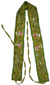 Handmade Embroidery Beaded Ladies Woemen's Fashion Belt Indian Traditional Art