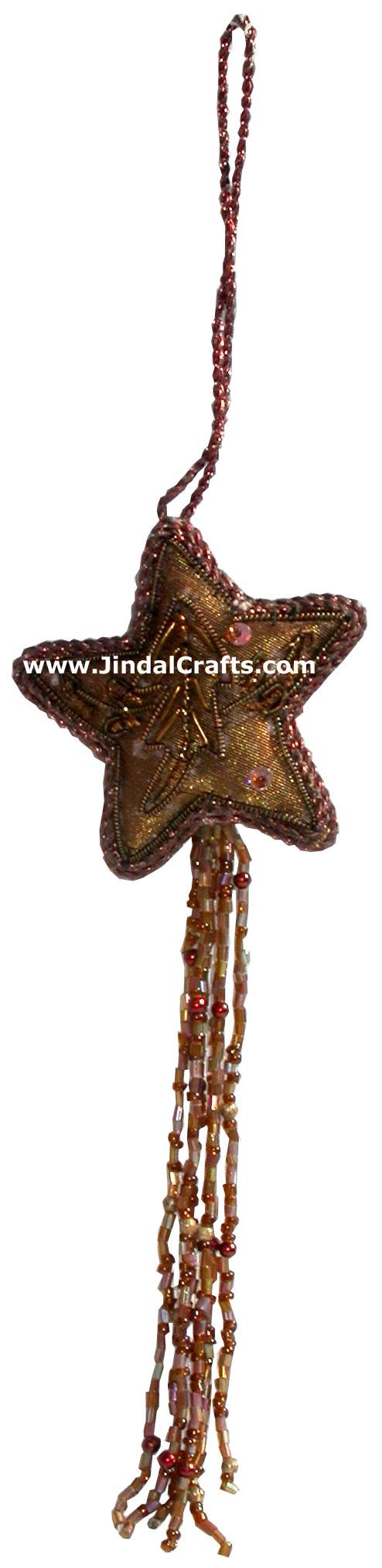 Christmas decorative gt ornaments gt beadwork cotton ornaments