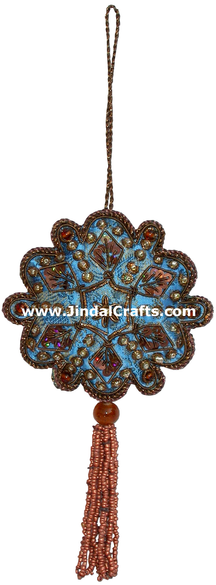 Christmas decorative gt ornaments gt beaded ornaments hand embroidered