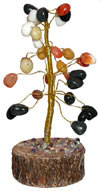 Feng Shui Stone Tree for Growth in Business and Wealth
