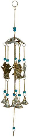 Wind Chimes Hanging Bells - Brass Beads Made Home Decoration Indian Handicrafts