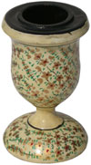 Handmade Hand Painted Papier Mache Candle Stand India