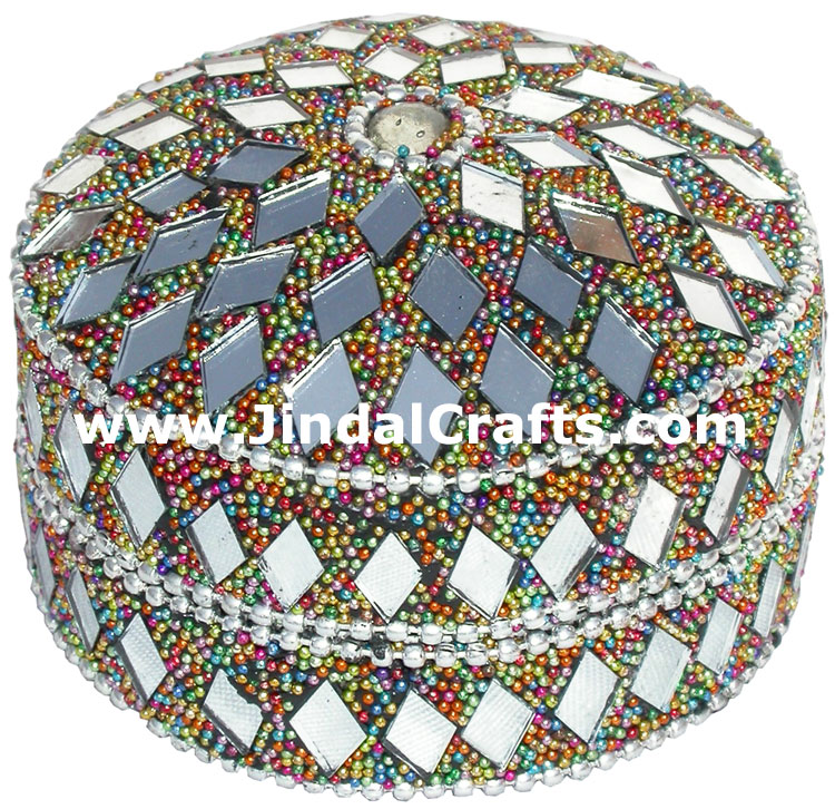 Set of Lac Trinket Boxes Traditional Hand Crafted Gifts