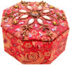 Jewelry Box - Hand Embroidered Designer Beaded Jari