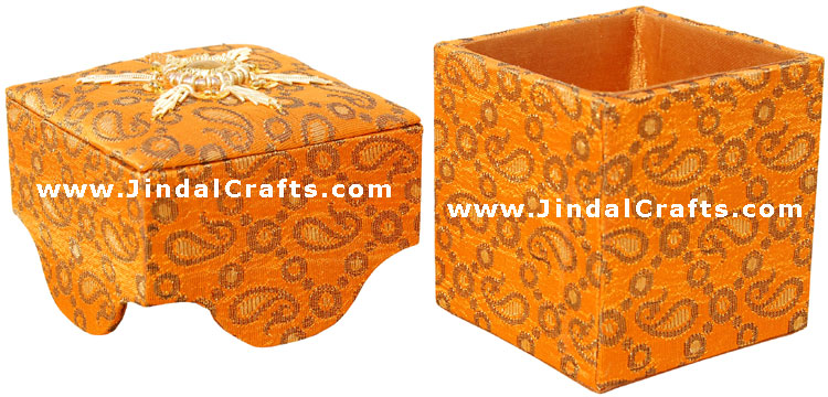 Hand Embroider / Beaded / Jari / Zari Multi Purpose Box