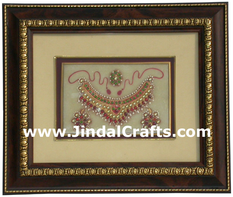 Marble Painting Traditional India Artifact Handmade Art