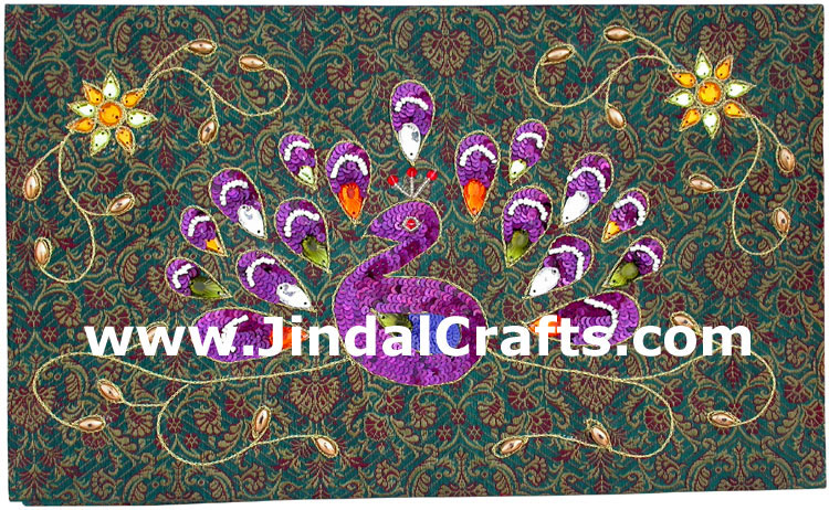 Photo Album Beaded Hand Embroidered Jari Handicraft Art