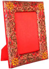 Photo Frame - Hand Embroidered Beaded Jari Zari Work Handicrafts Gifts Souvenirs