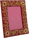 Hand Embroidered Photo Frame Indian Handicrafts Arts Crafts Gift Souvenirs Jari
