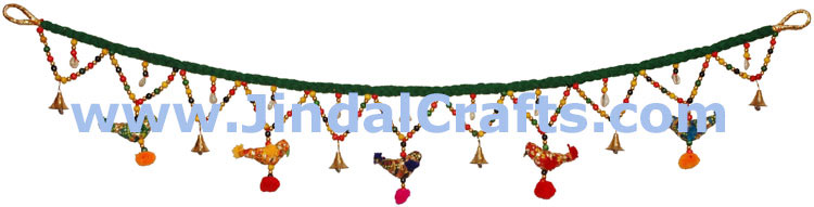 Toran Handmade Home Door Decoration Hanging from India