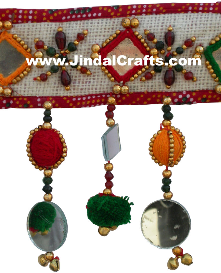 Colourful Handmade Door Hangings Home Decor Traditional Handicrafts From India Ebay