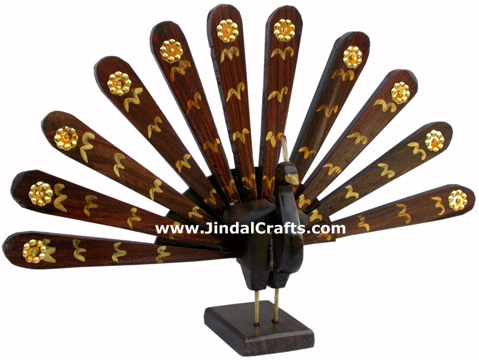 Wooden carved decorations