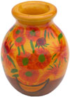 Colorful Vase Hand Painted Home Decoration Vase India