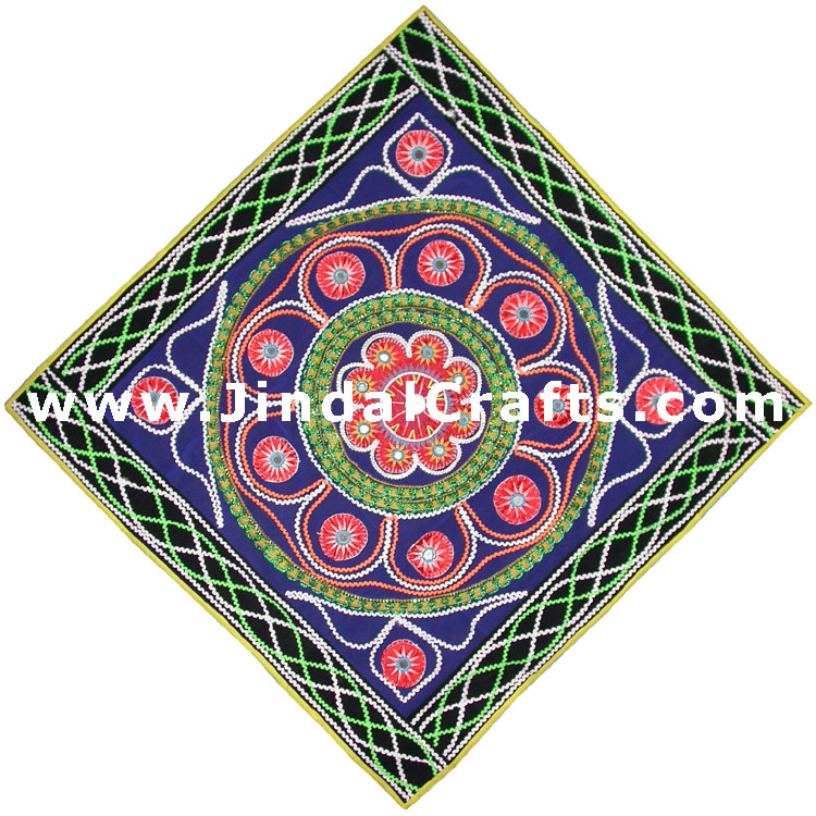Wall Hanging - Hand Embroidered Decorative Wall Art