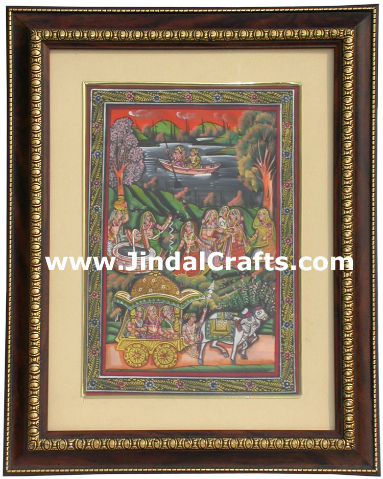 Pichwai Paintings - Hand Painting from India