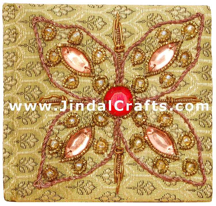 Embroided Diary – Handcrafted Art from India