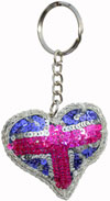Great Britain Keyring - Handmade from India