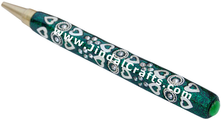 Handmade Decorative Pen from Indian Handicraft Treasure