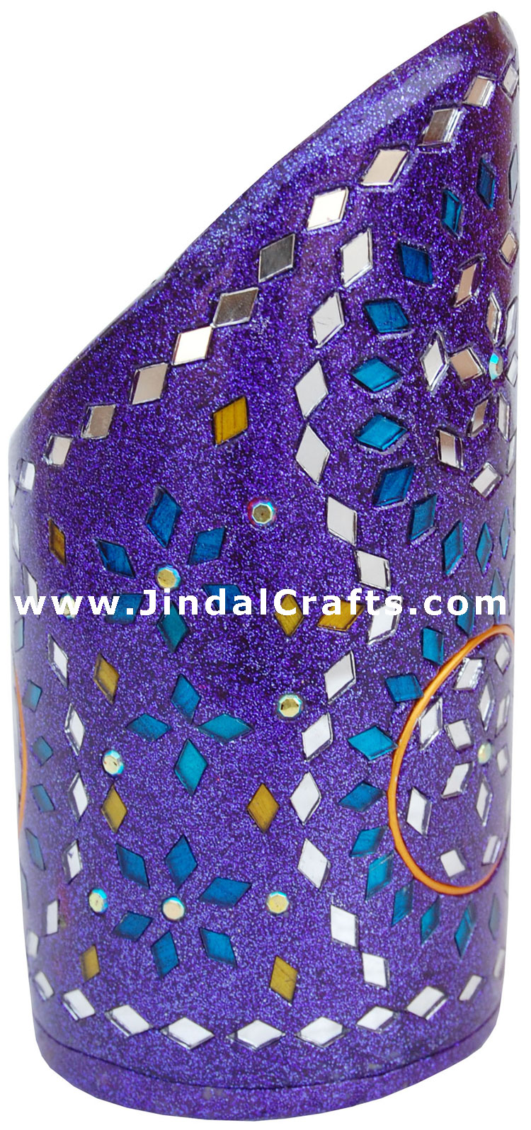 Handmade Decorative Lac Pen Stand from Indian Arts