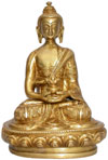 Lord Buddha Peaceful Sculpture India Hand Crafted Unique Idols Handicrafts