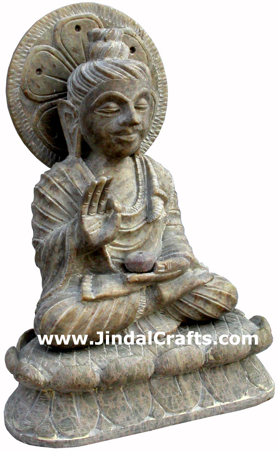 Lord Buddha Hand Carved Indian Art Craft Handicrafts Home