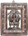 Lord Ganesha Wall Hanging Indian God Sculptures Crafts