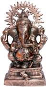 Siddhi Vinayaka Figurine Statue Sculptures India Arts