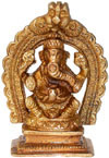 Brass Lord Ganesha India Artifacts Arts