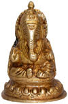 Brass Lord Ganesha India Artifacts