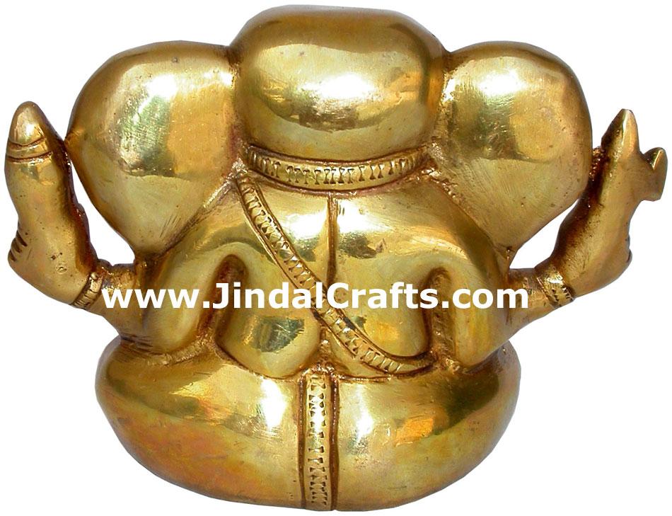 Ganesha Hand Carved Indian Art Craft Handicraft Home