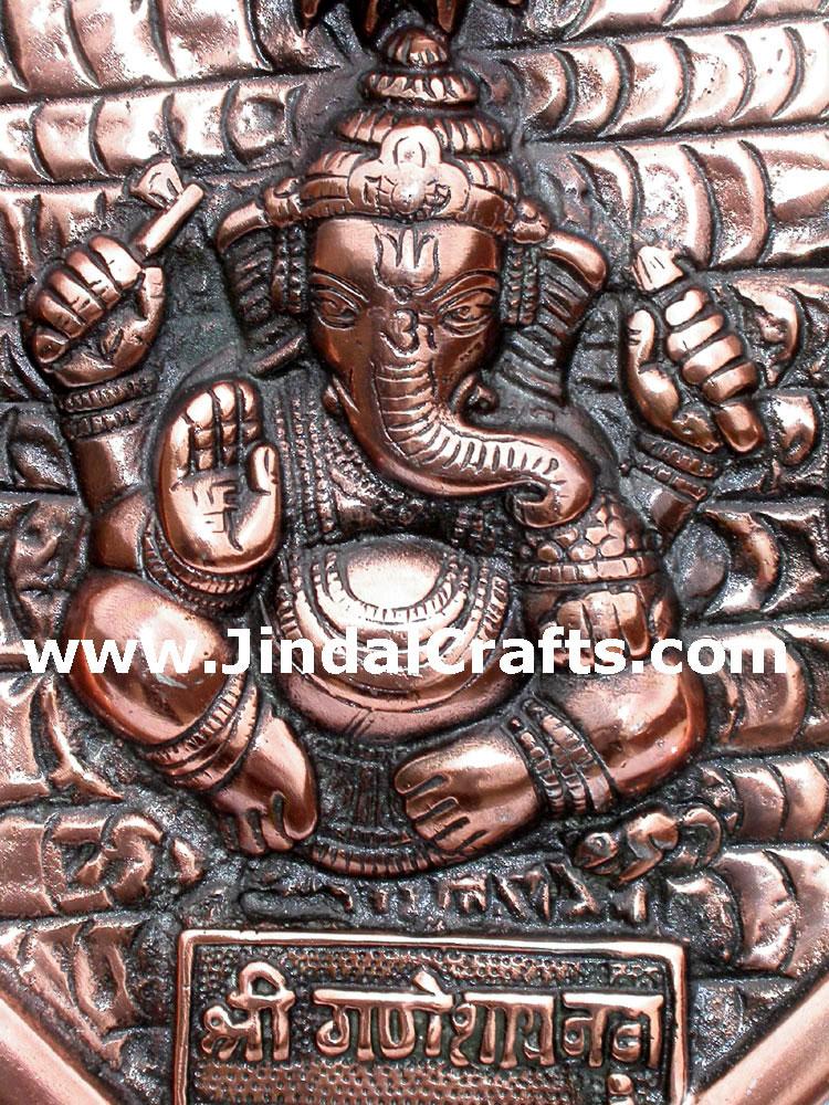 Ganesha hand carved indian art craft handicraft home for Al ahram aluminium decoration