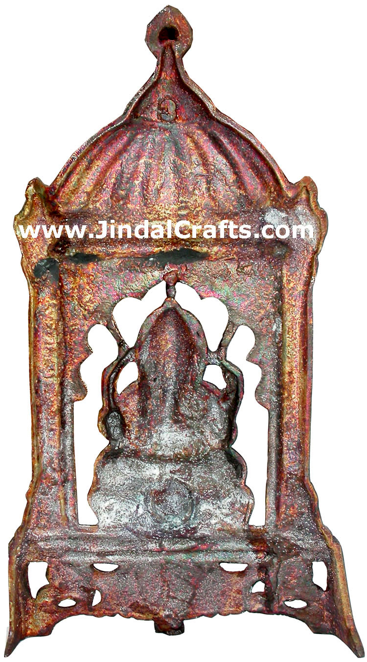Ganesha hand carved indian art craft handicraft home for Al ahram aluminium decoration