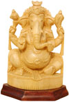 Ganesha - Handcrafted Hindu Sculpture Indian Fine Art Lord Ganpati Religious