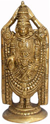Bala Ji - Hand Carved Indian Art Craft Handicraft Home Decor Brass Figurine
