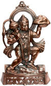 Hanumaan - Hand Carved Indian Art Craft Handicraft Home Decor Aluminium Figurine