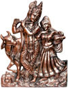 Radha Krishna Indian God Goddess Hindu Religious Arts Crafts Handicrafts