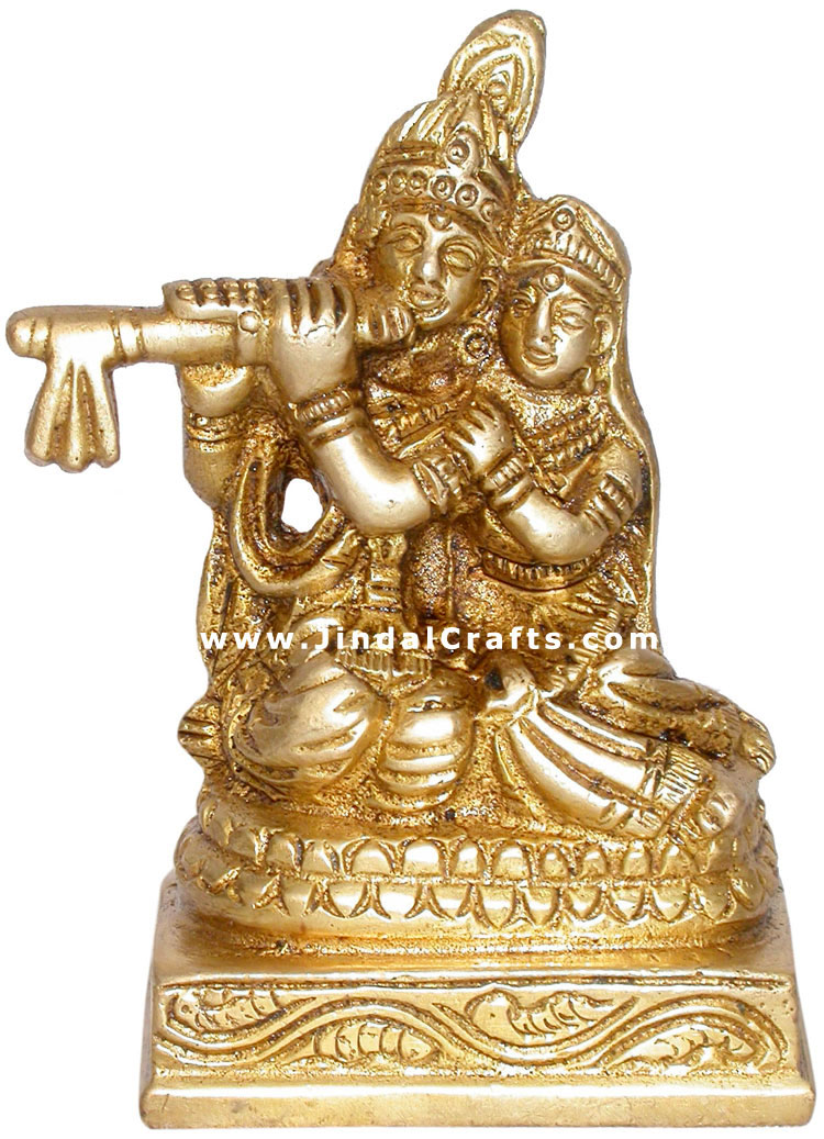 Radha Krishna Hindi Religious Statues Handicrafts Art