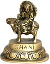 Shani Indian God Brass Idols Hand Crafted Sculptures