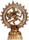 Natraja Lord Shiva Indian God Sculptures Crafts Gifts