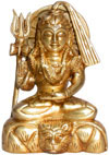 Lord Shiva Indian God Brass Sculptures Hindu Religious Figurines Artifacts Idols
