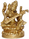 Hindu Deities Goddess of Knowledge Saraswati India Arts