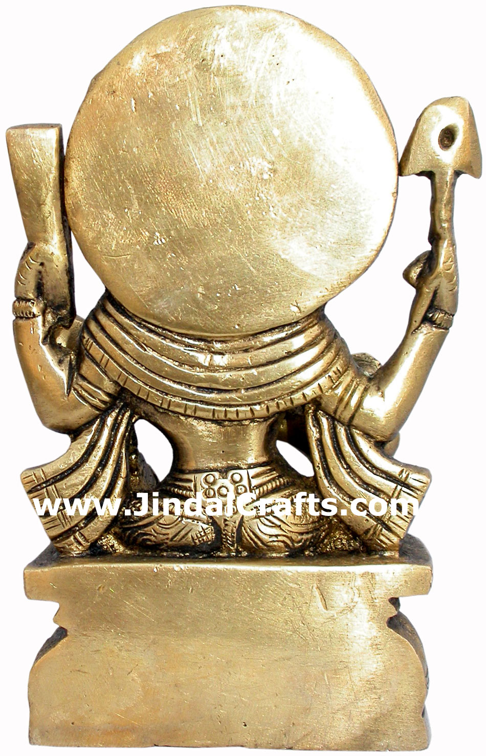 Saraswati Hand Carved Indian Art Craft Handicraft Home Decor Brass Figurine
