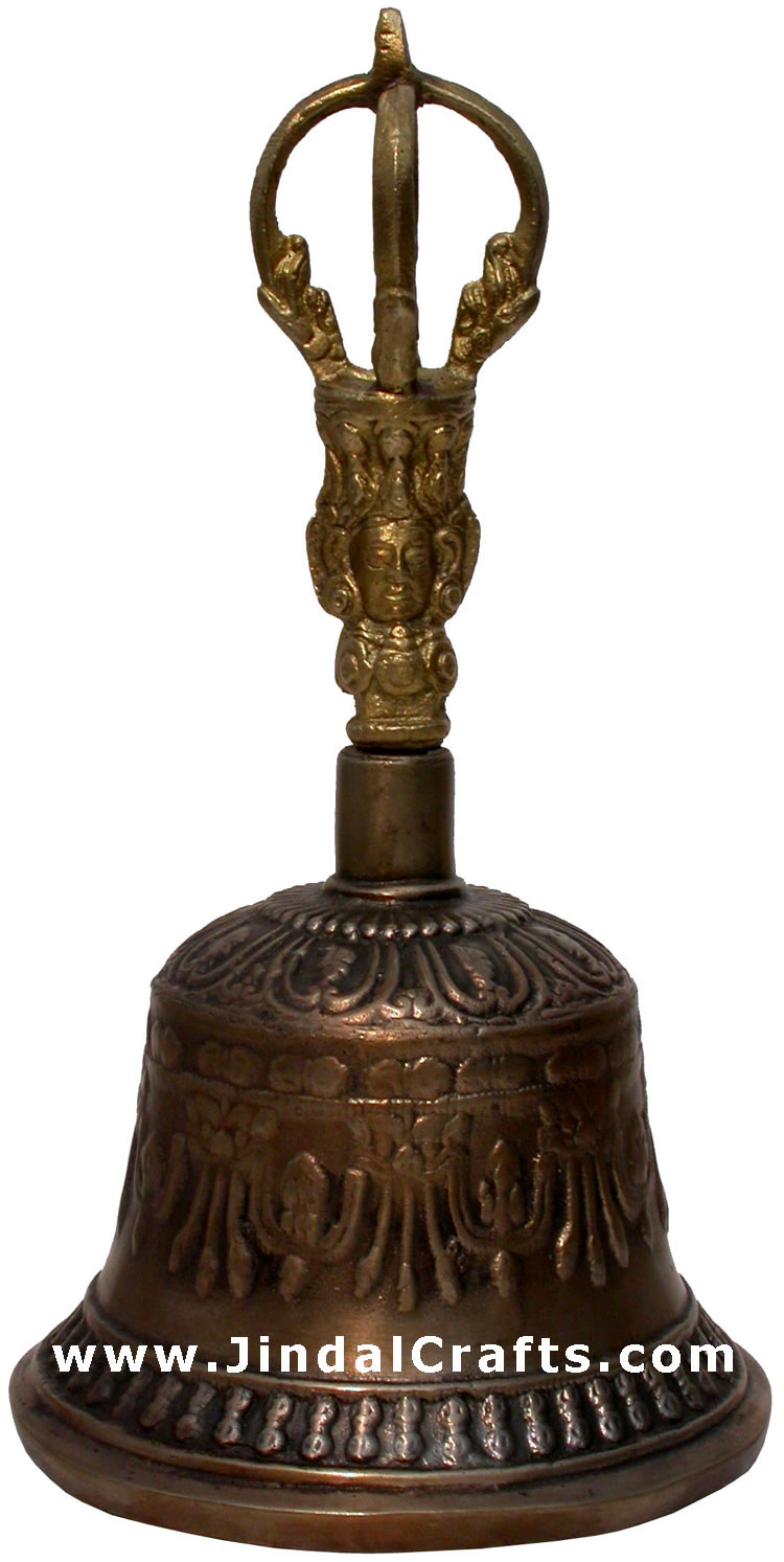 Singing Bells with Dorje - Tibetan  Ritual Objects