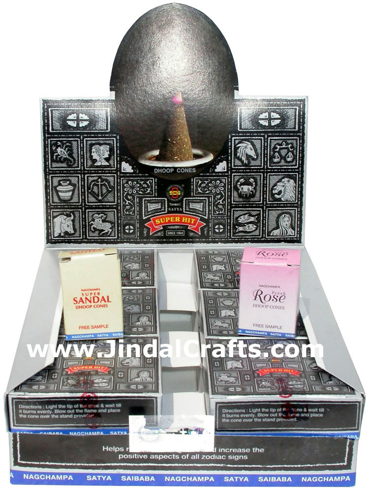 Satya Saibaba Nagchampa Super Hit Incense Dhoop Cones