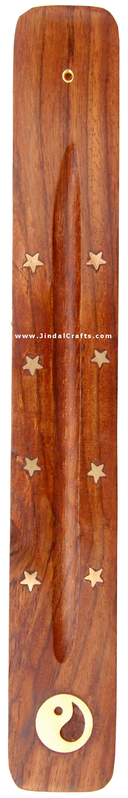 Incense Holder - Hand Carved Wooden Indian Art